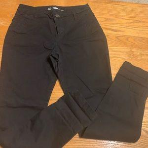 Old navy black uniform pants
